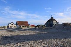 Beach hut in Valizas Uruguay. Stock Photography