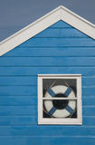 Beach hut window Royalty Free Stock Photos