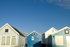 Beach huts. Royalty Free Stock Images