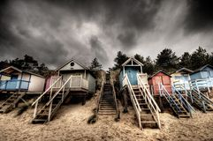 Free Beach Huts Stock Image - 1581041