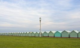 row of beach huts Royalty Free Stock Image
