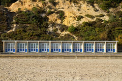 Beach Huts Royalty Free Stock Photography