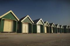 Beach huts Stock Photo