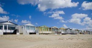 Beach huts Royalty Free Stock Photography