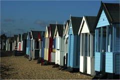 Beach Huts. South-on-Sea, England Royalty Free Stock Photo
