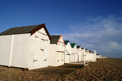 Beach_huts Royalty Free Stock Photo