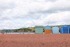 Free Beach Huts Royalty Free Stock Image - 42547536
