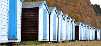Beach Huts Royalty Free Stock Image