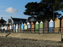Beach Huts. Bournemouth Royalty Free Stock Image