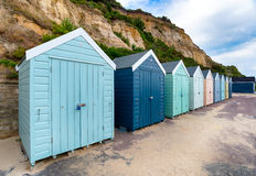 Beach Huts at Bournemouth Royalty Free Stock Photography