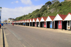 Beach Huts, Bournemouth, Dorset. Royalty Free Stock Image