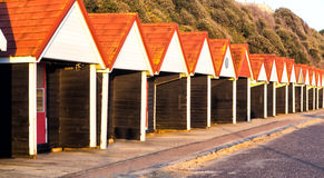 Beach huts, Bournemouth, UK Stock Photo