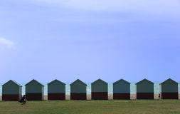 Beach huts in Brighton Royalty Free Stock Photos