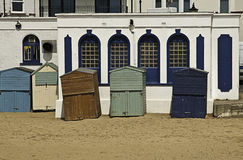 Beach huts, broadstairs Stock Photography