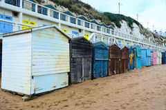 Beach Huts at Broadstairs UK Stock Photography
