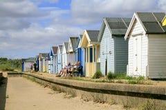 Beach Huts. Royalty Free Stock Photo