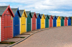 Beach huts. Stock Images