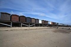 Beach Huts, Frinton, Essex, England Royalty Free Stock Image