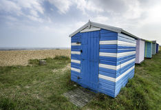 Beach Huts in Kent Royalty Free Stock Photo