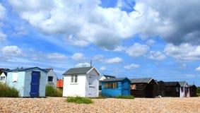 Beach huts Kent United Kingdom Royalty Free Stock Images