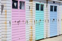 Beach Huts, Lyme Regis. Royalty Free Stock Image