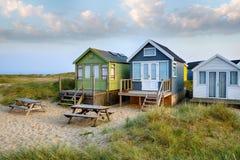 Beach Huts at Mudeford Royalty Free Stock Photography