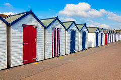 Beach Huts Preston Sands Devon Royalty Free Stock Image