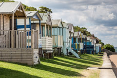 Beach Huts Stock Image