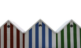 Beach huts roof Royalty Free Stock Image