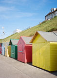Seaside Beach Huts Stock Photography