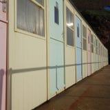 Beach Huts Stock Photography