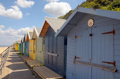 Beach huts, Sheringham Royalty Free Stock Photo