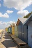 Beach huts, Sheringham Stock Photography