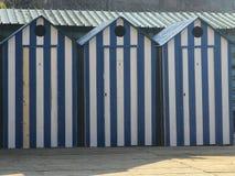 Beach huts. Sorrento beach. Italy Stock Image