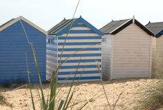 Beach Huts at Southwold Stock Photo