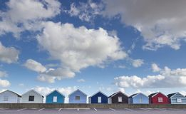 Beach Huts, Southwold Royalty Free Stock Photos