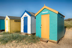 Beach Huts at Southwold Stock Photography