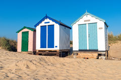 Beach Huts at Southwold Royalty Free Stock Images