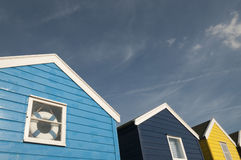 Beach huts in Southwold Royalty Free Stock Photo
