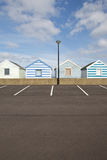 Beach huts in Southwold, Suffolk Royalty Free Stock Photos
