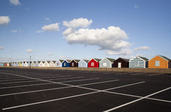 Beach Huts, Southwold, Suffolk, England Stock Photo