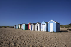 Beach Huts, Southwold, Suffolk, England Stock Photography