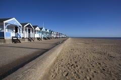 Beach Huts, Southwold, Suffolk, England Royalty Free Stock Photos