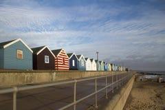 Beach Huts at Southwold, Suffolk, England Stock Photos