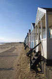 Beach Huts at Southwold, Suffolk, England Royalty Free Stock Photos