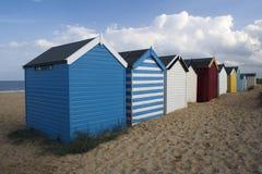 Beach Huts, Southwold, Suffolk, England Stock Image