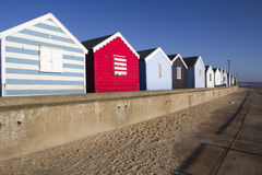 Beach Huts at Southwold, Suffolk, England Royalty Free Stock Photography