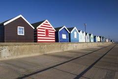 Beach Huts at Southwold, Suffolk, England Royalty Free Stock Photo