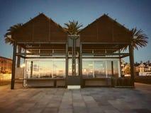 Beach Huts royalty free stock photo