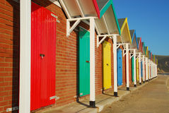 Beach Huts, Swanage, Dorset Royalty Free Stock Photography
